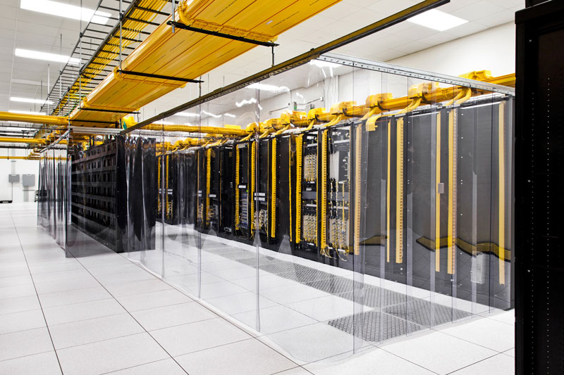 google data center network room council bluffs iowa A Photo Tour of Google Data Centers Around the World