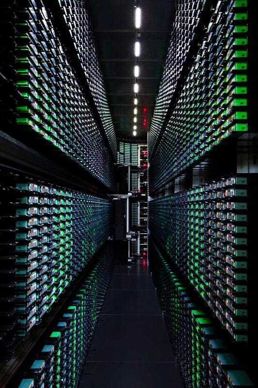 google tape library berkeley county south carolina A Photo Tour of Google Data Centers Around the World
