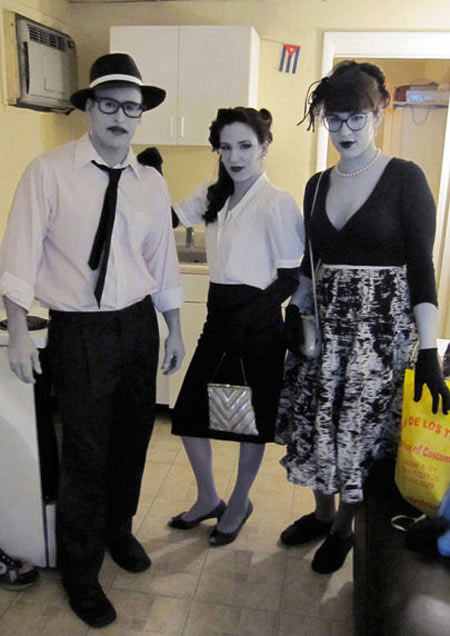 grayscale halloween costume 23 Funny and Creative Halloween Costumes