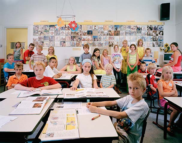 holland drouwenermond primary year 5 6 7 8 history classroom portraits julian germain 18 Classroom Portraits Around the World