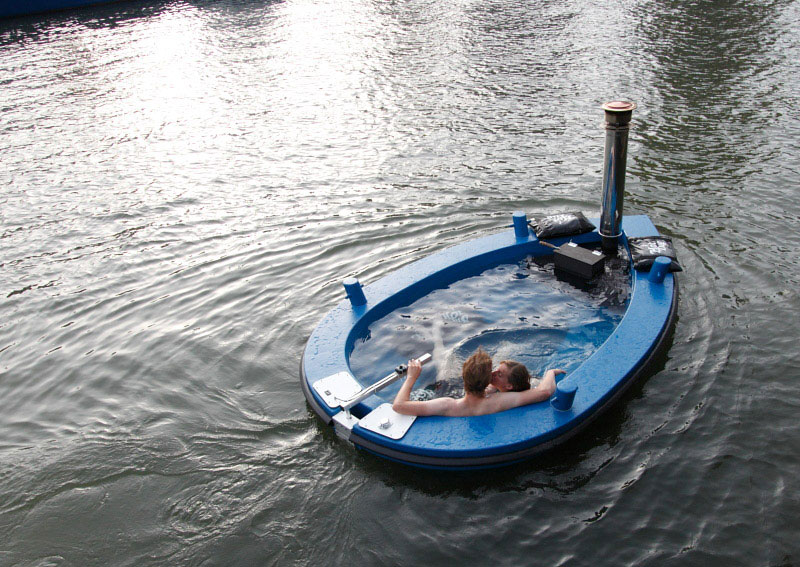 Check Out This Hot Tub Tug Boat Twistedsifter