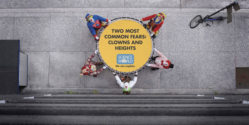 interesting science facts on billboards science world vancouver bc outdoor ooh ads rethink 13 25 Billboards with Fascinating Science Facts