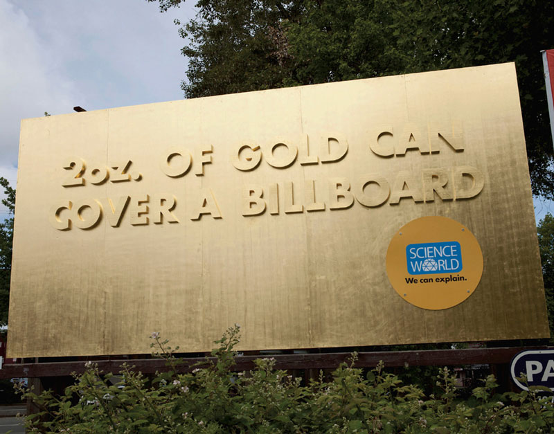 interesting science facts on billboards science world vancouver bc outdoor ooh ads rethink 19 25 Billboards with Fascinating Science Facts