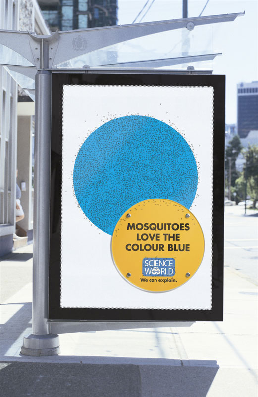 interesting science facts on billboards science world vancouver bc outdoor ooh ads rethink 5 25 Billboards with Fascinating Science Facts