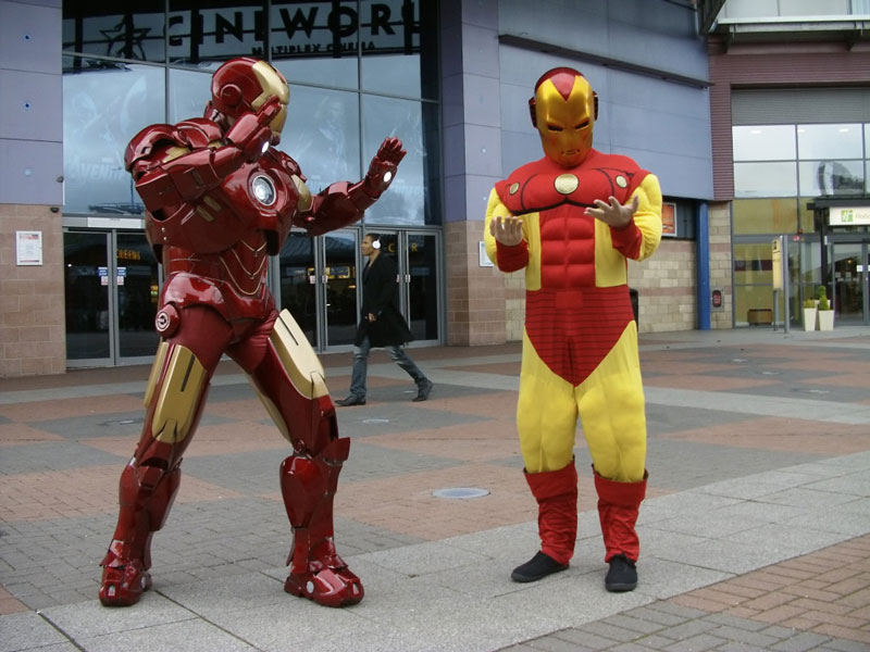 iron man halloween costume 23 Funny and Creative Halloween Costumes
