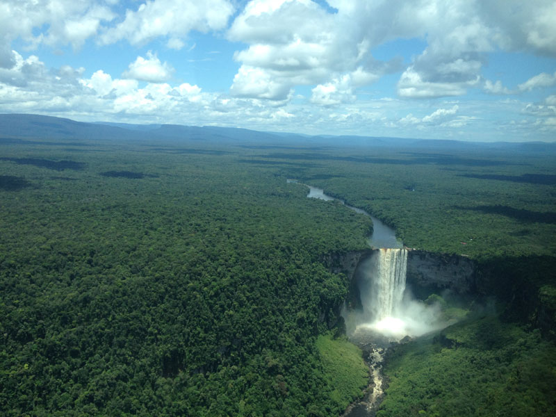 Picture of the Day: Kaieteur Falls fromAbove