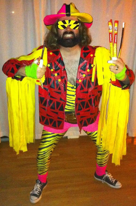 macho man randy savage costume 23 Funny and Creative Halloween Costumes