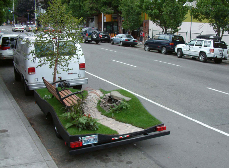 miniature park on a trailer suttonberesculler trailer park 4 Youve Never Seen a Trailer Park Like This [15 pics]