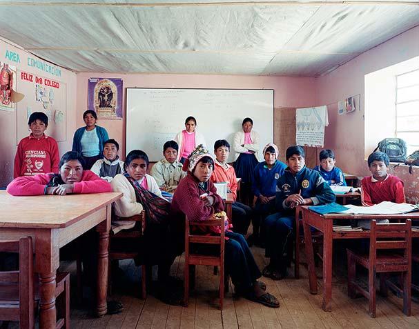 peru tiracanchi secondary grade 2 mathematics classroom portraits julian germain 18 Classroom Portraits Around the World