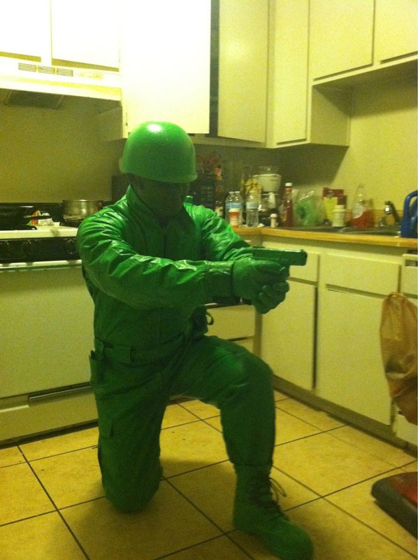 plast green army man halloween costume 23 funny and creative halloween costumes - Good Halloween Costumes For Big Guys