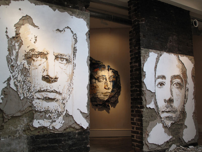 portraits chiseled into walls street art vhils alexandre farto 11 15 Street Art Portraits Chiseled Into Walls