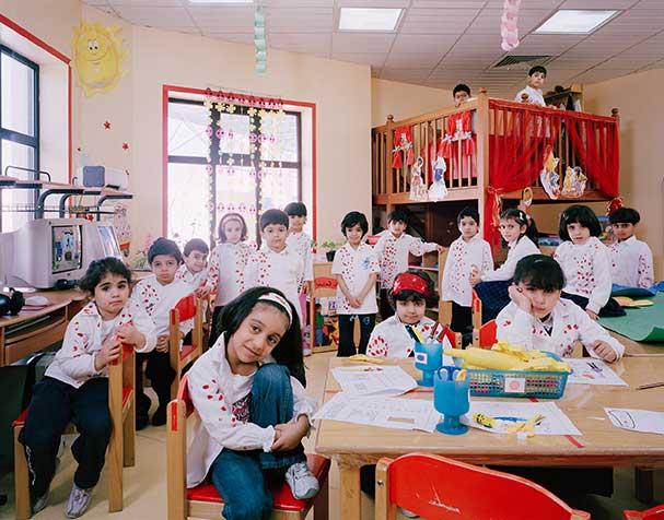 saudi arabia dammam kindergarden activities classroom portraits julian germain 18 Classroom Portraits Around the World