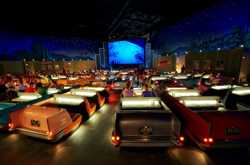Picture of the Day: The Dine-In Theater at Disney World
