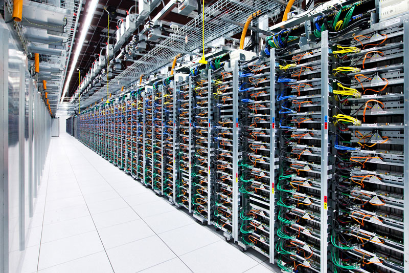 server rack mayes county oklahoma google data center A Photo Tour of Google Data Centers Around the World