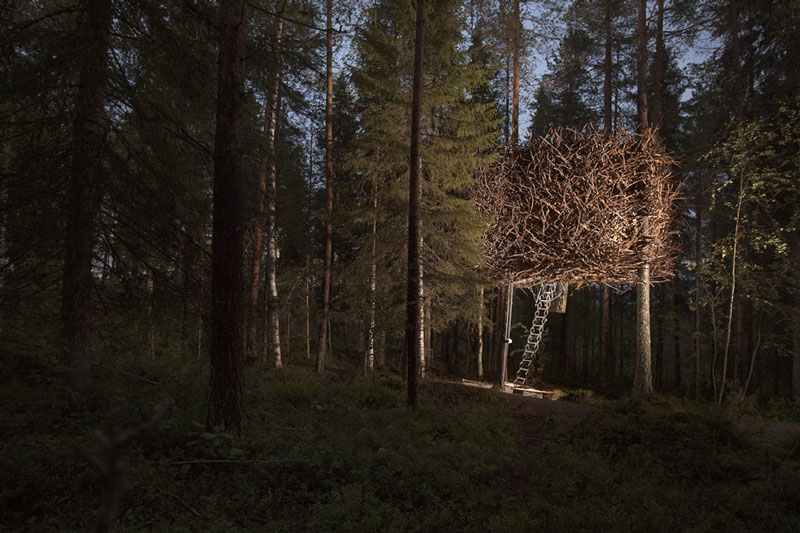 sweden tree hotel birds nest room 4 The Treehotel in Sweden for Nature Lovers