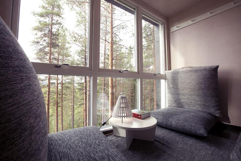 the treehotel in sweden for nature lovers twistedsifter. Black Bedroom Furniture Sets. Home Design Ideas