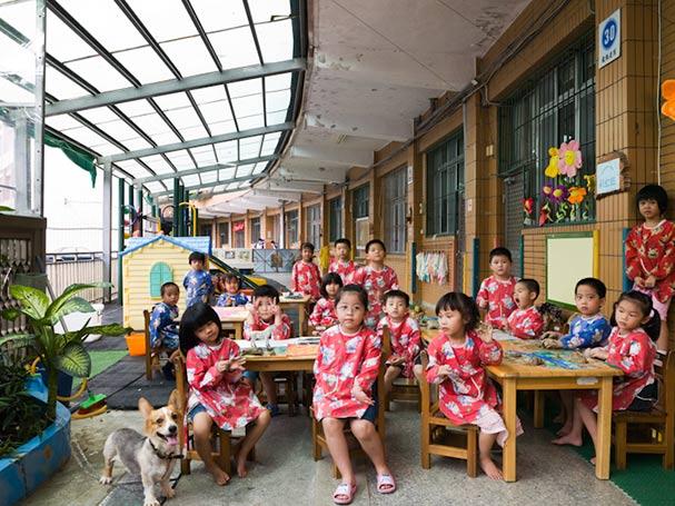 taiwan ruei fang township kindergarten art classroom portraits julian germain 18 Classroom Portraits Around the World