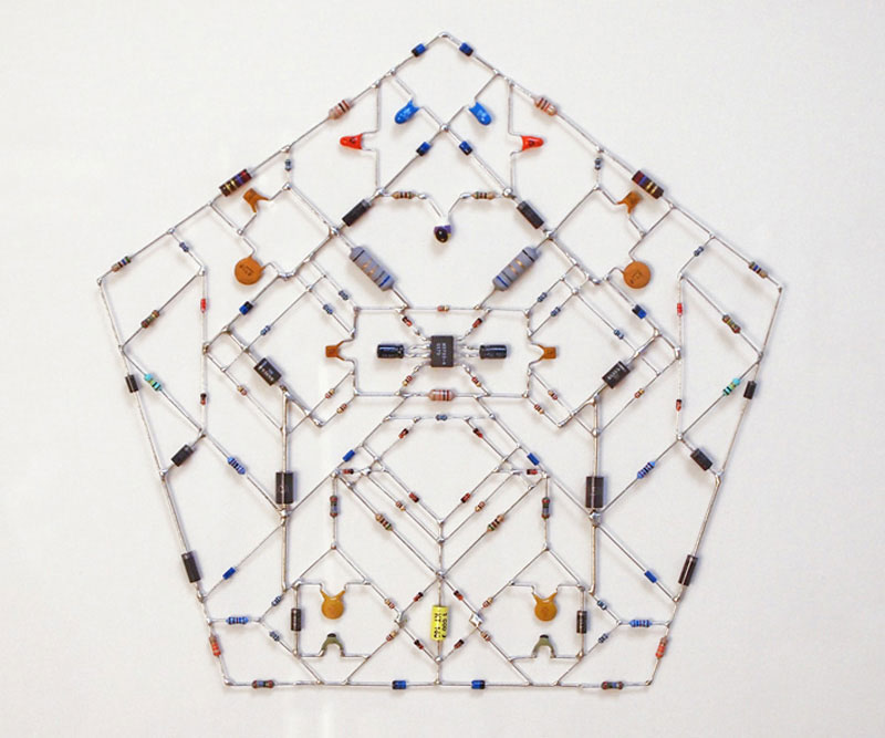 tech mandalas made from circuits leonardo ulian 61 Technological Mandalas Made From Circuitry