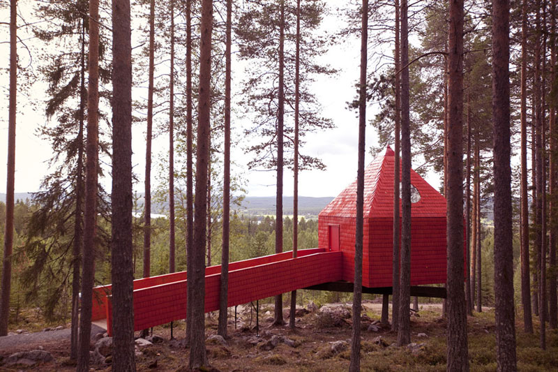 treehotel sweden blue cone 2 The Treehotel in Sweden for Nature Lovers