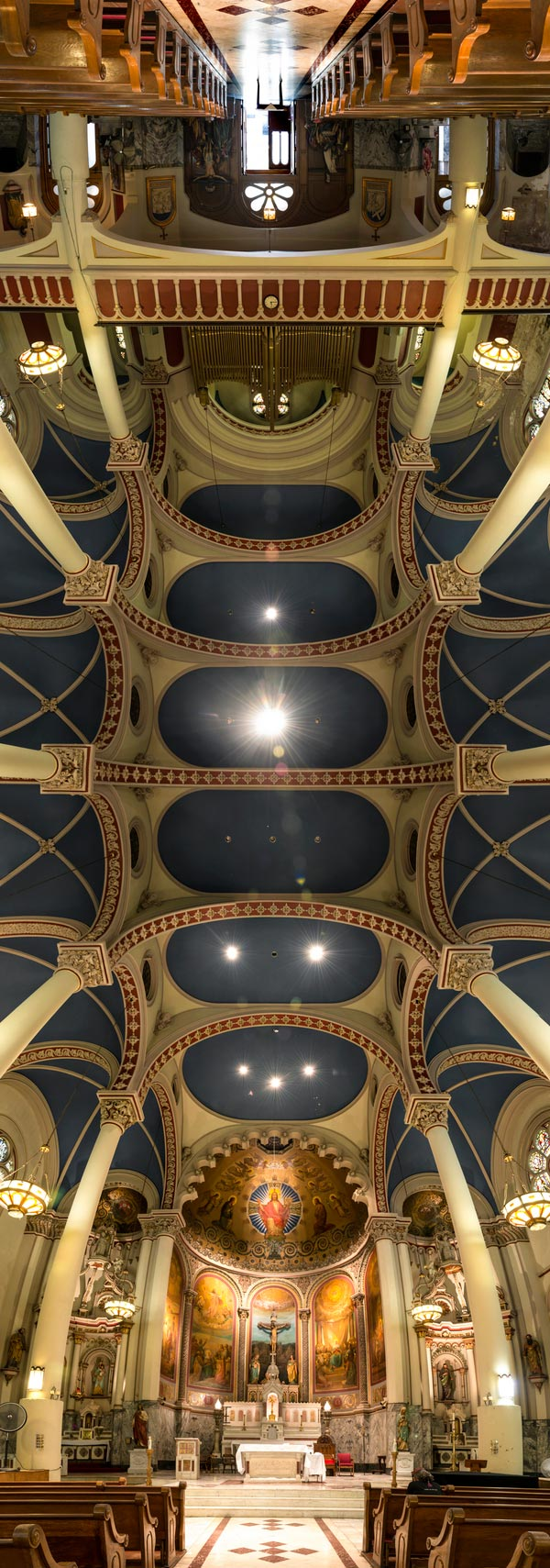 vertical panoramas of church ceilings 5 Amazing Vertical Panoramas of Church Ceilings