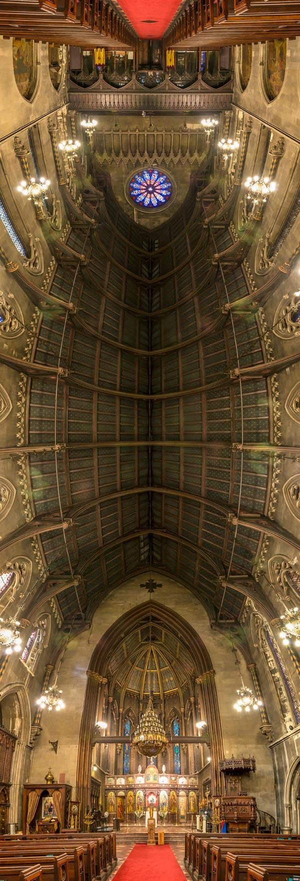 vertical panoramas of church ceilings 6 Amazing Vertical Panoramas of Church Ceilings