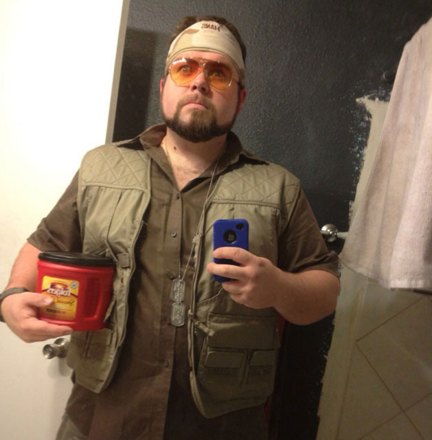 walter sobchak big lebowski halloween costume 23 Funny and Creative Halloween Costumes