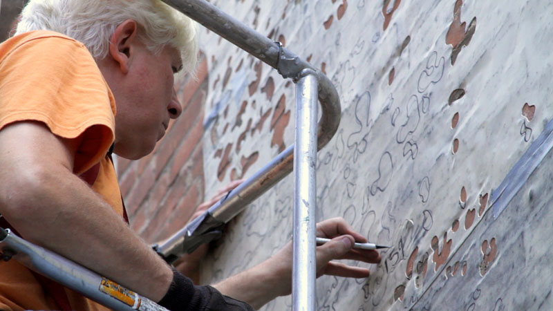 water activated oak tree mural adam niklewicz hartford ct 2 The Water Activated Oak Tree Mural in Hartford