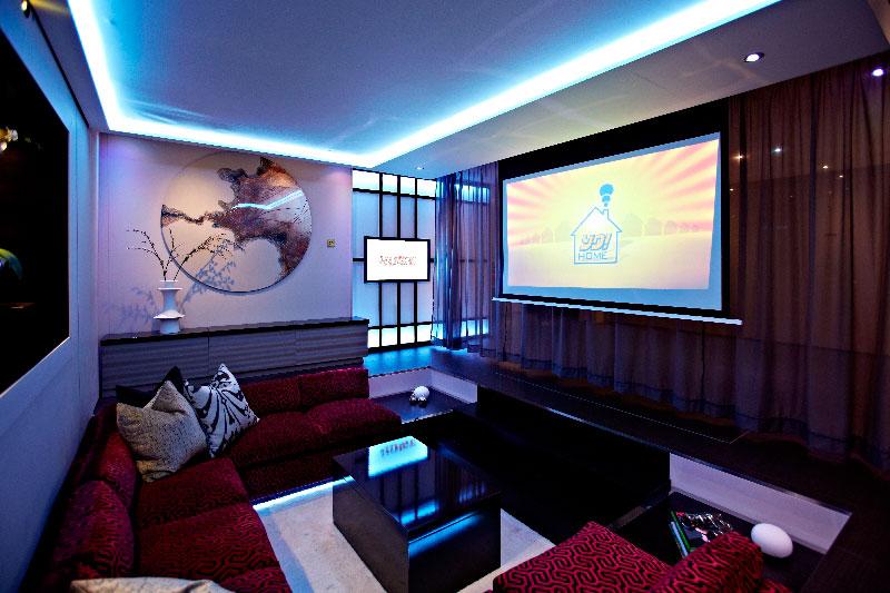 yo home simon woodroffe 4 Elevator Bed Rises to Reveal Sunken Living Room