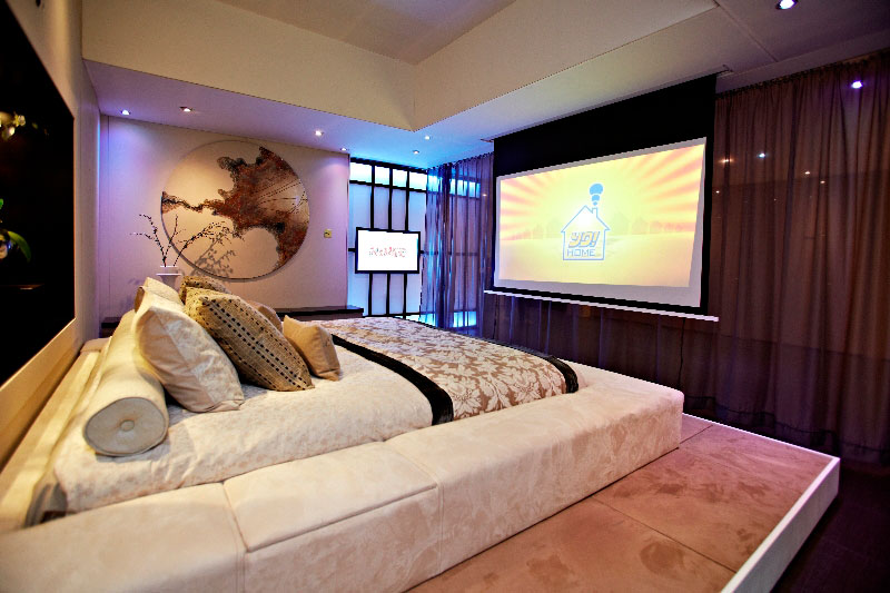 yo home simon woodroffe 5 Elevator Bed Rises to Reveal Sunken Living Room