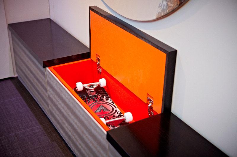 yo home simon woodroffe 8 Elevator Bed Rises to Reveal Sunken Living Room