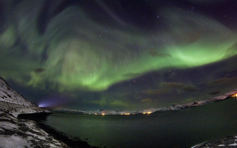 1 hammerfest norway northern lights aurora borealis An Incredible Photo Tour of Norway