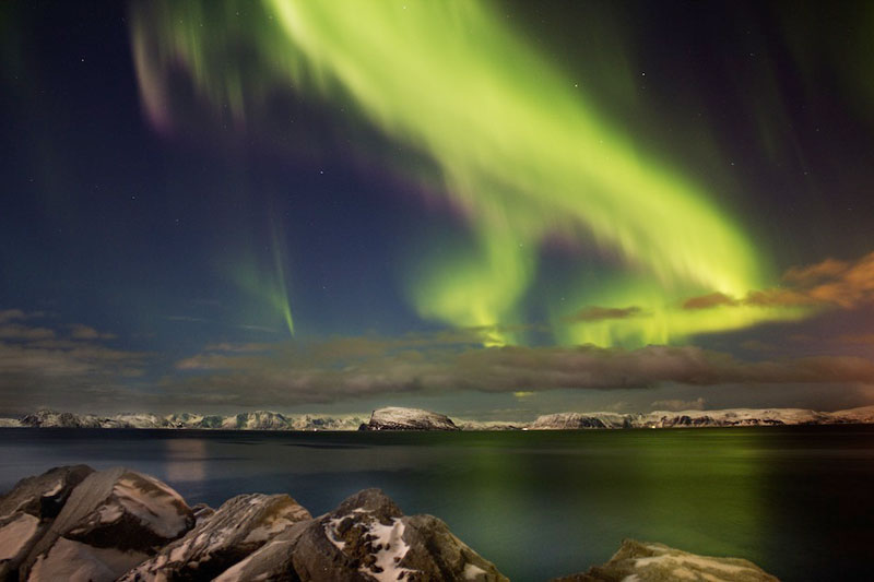 12 aurora borealis hammerfest norway An Incredible Photo Tour of Norway
