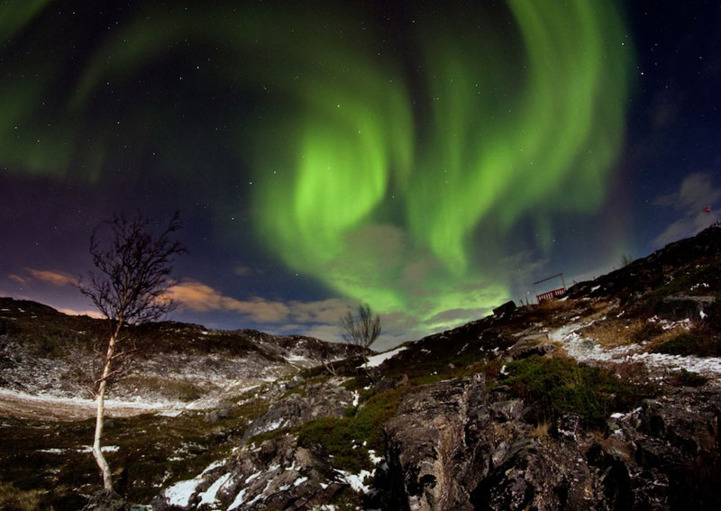 2 hammerfest norway aurora borealis An Incredible Photo Tour of Norway