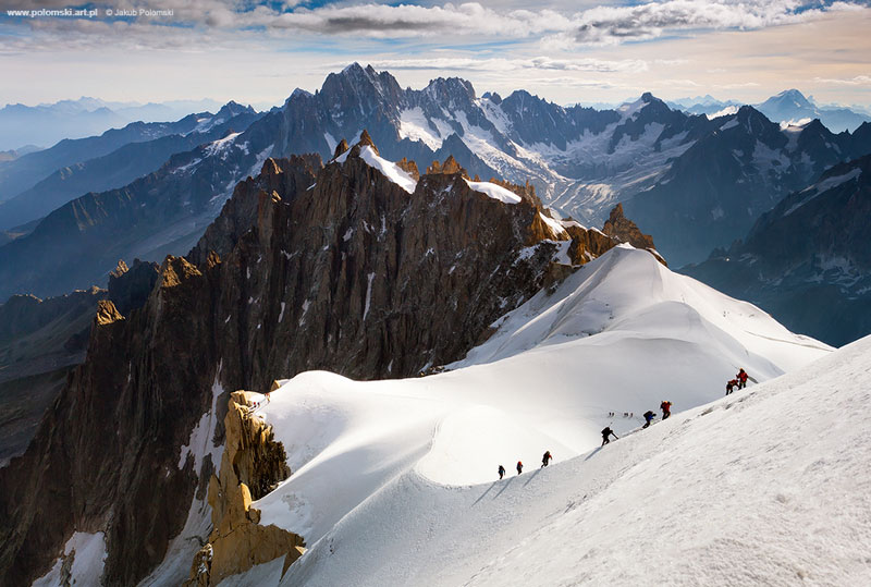 alpinists chamonix jakup polomski Picture of the Day: The Alpinists
