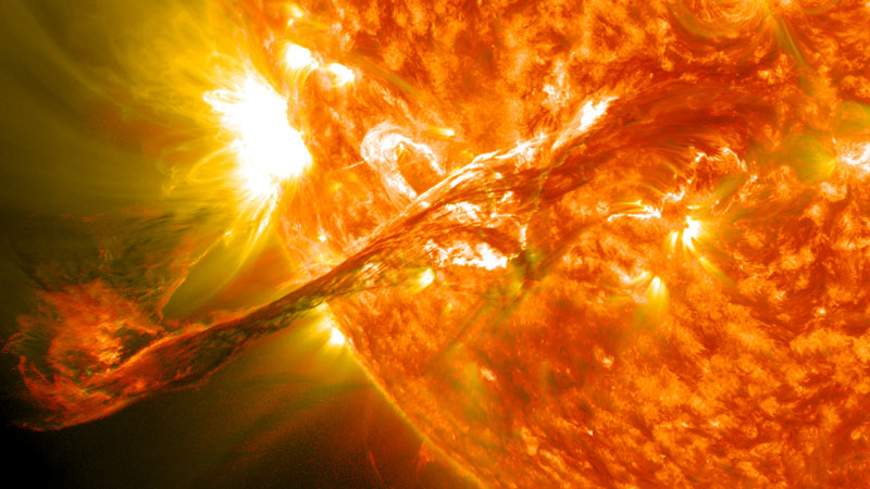 an eruption on the sun Picture of the Day: Our Sun Erupts