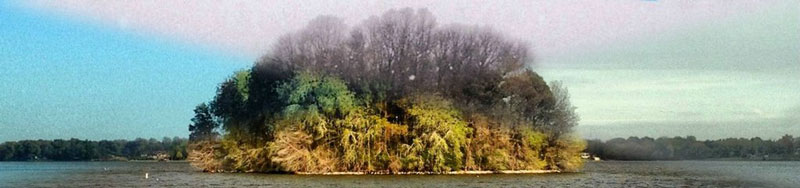 capturing the four seasons in one picture on an island lake springfield illinois 7 Capturing the Four Seasons in a Single Image