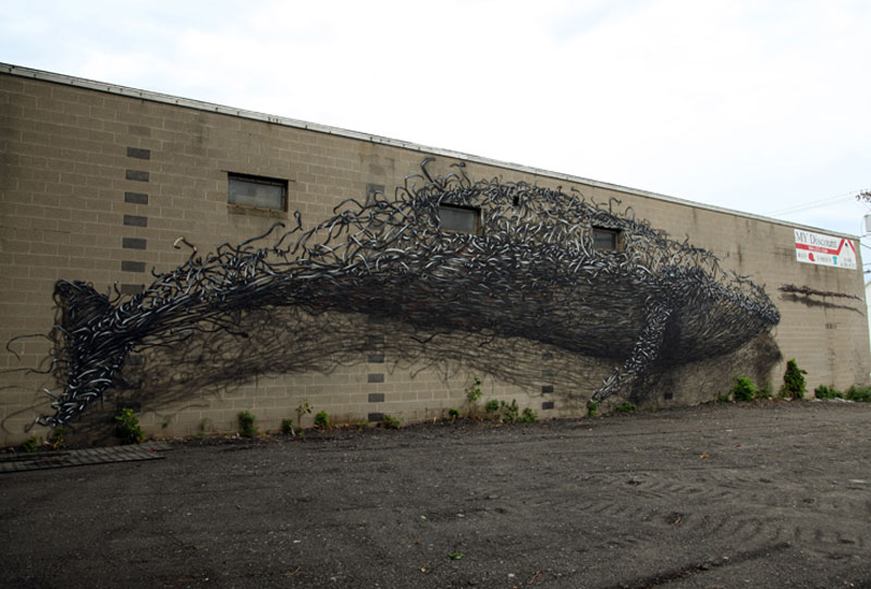 daleast discount evolutionrochester ny usa 2012 3 Twisted Metal Street Art Murals by DALeast