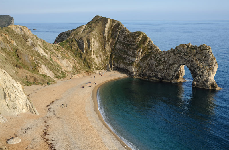 Durdle_Door_limestone arch jurassic coast lulworth dorest england