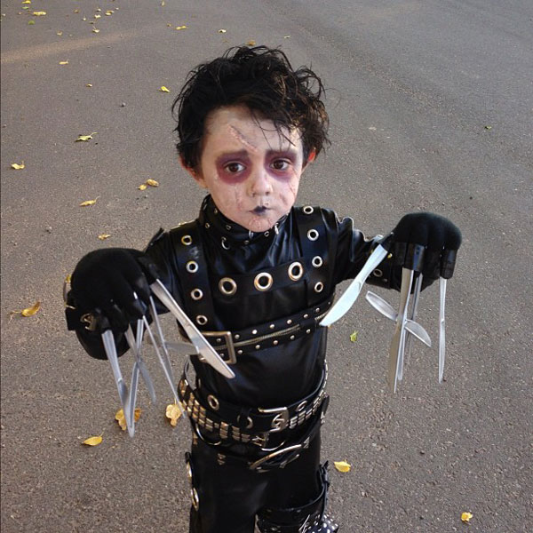 edward scissorhands halloween costume The 40 Best Halloween Costumes of 2012
