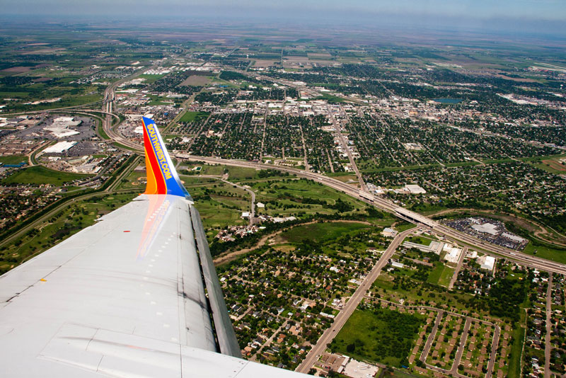 harlingen texas aerial from airplane window Seeing the World Through an Airplane Window