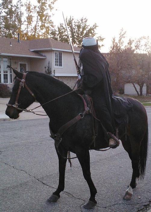 headless horseman halloween costume The 40 Best Halloween Costumes of 2012