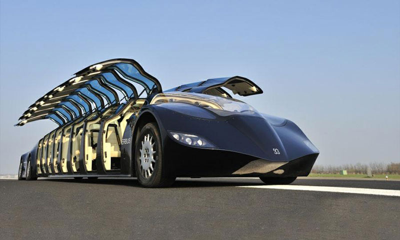 High-Speed 'Superbus' Aims to Disrupt Personal Transport Industry