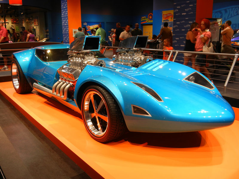 Life Size Replica of the Iconic Hot Wheels Twin Mill