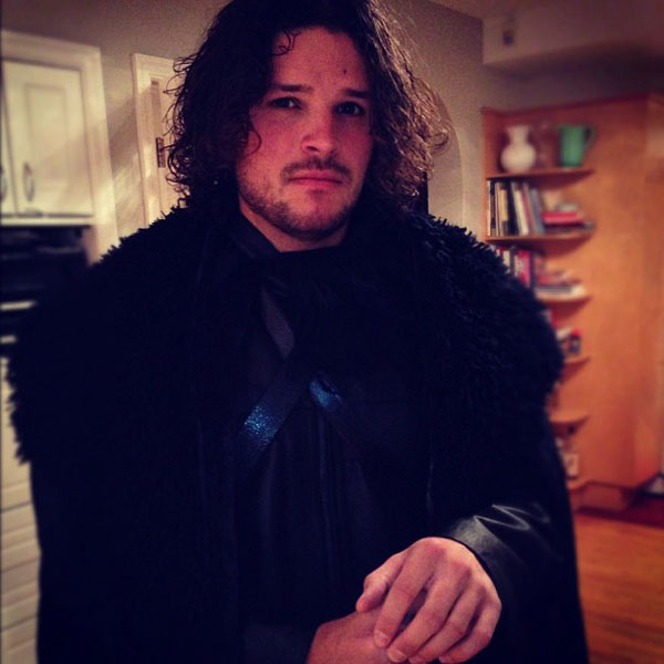 john snow game of thrones halloween costume The 40 Best Halloween Costumes of 2012