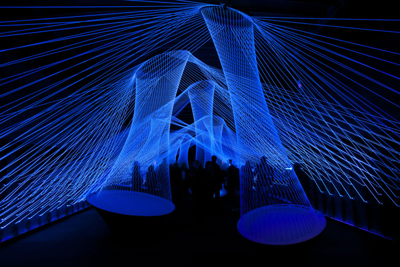 Picture of the Day: The 'Resonate' Light Installation at Luminale