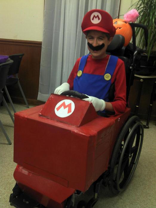 mario kart wheelchair halloween costume The 40 Best Halloween Costumes of 2012