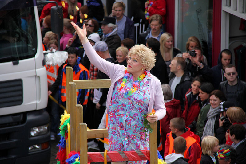 mayor of reykjavic jon gnarr pride parade drag 12 Reasons Why Jon Gnarr is the Worlds Most Interesting Mayor