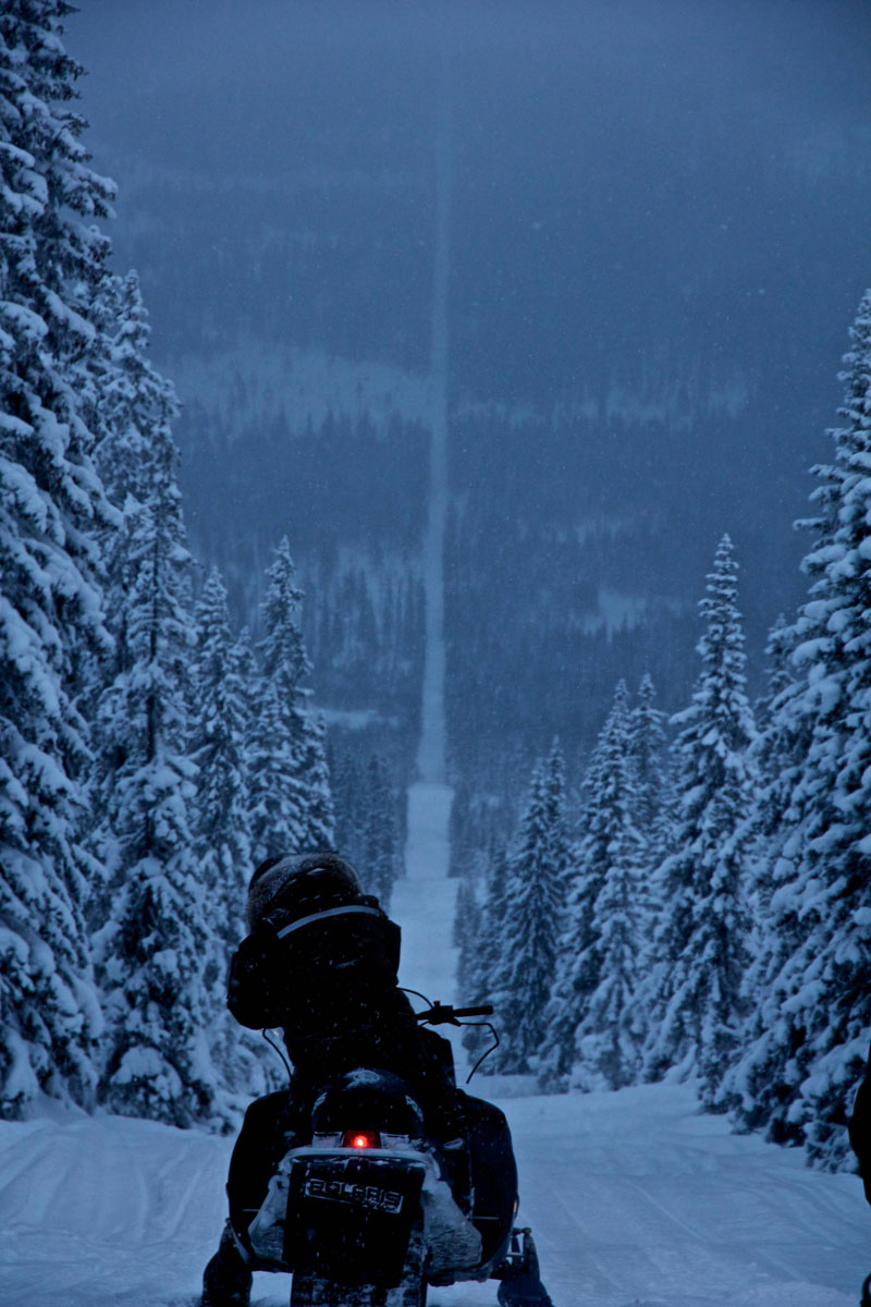norway sweden border snowmobile winter The Top 100 Pictures of the Day for 2012