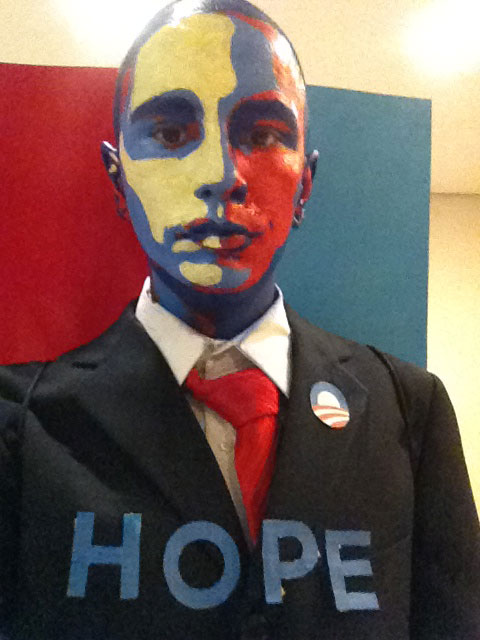 obama hope halloween costume The 40 Best Halloween Costumes of 2012
