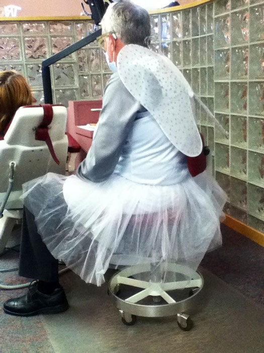 orthodontist as tooth fairy halloween costume The 40 Best Halloween Costumes of 2012